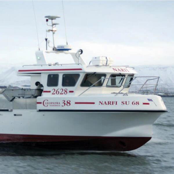 Cleopatra 38 fishing boat