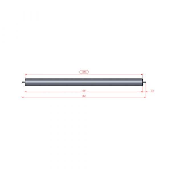 "Martak Spare Parts - SS-Roller for Long peeler 51"""