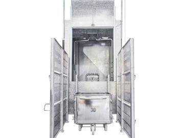 SEMI-STAAL Bin washer machine photo 02