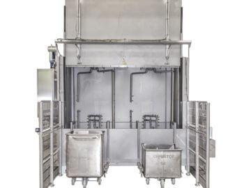 SEMI-STAAL Bin washer machine photo 03