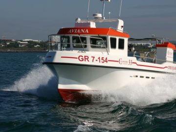 Cleopatra 33 fishing boat