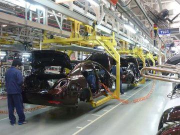 Conveyor System car production line