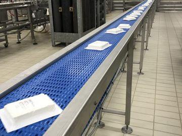 Conveyor system dairy