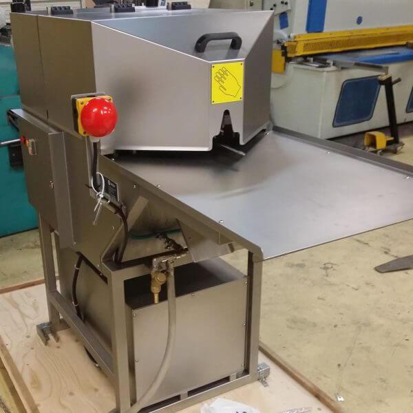 MESA 850 backbone processing machine