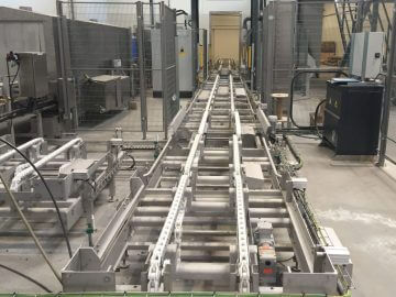 SEMI-STAAL Conveyor Systems Empty