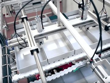SEMI-STAAL (De)Palletizer Machine General View