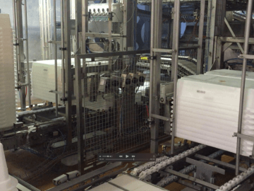 SEMI-STAAL (De)Stacker Systems working