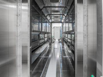 SEMI-STAAL Hot Air Drying Machine Inside