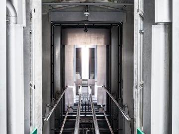 SEMI-STAAL Washer OP Trolley inside