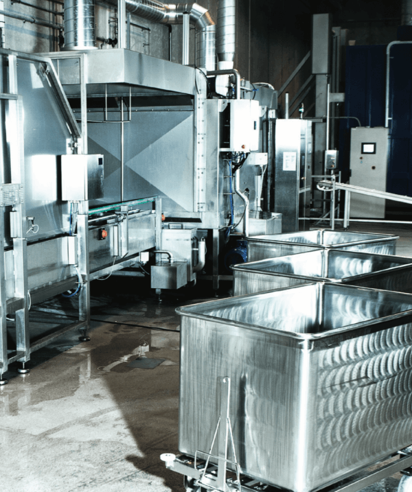 SEMI-STAAL Waste Handling and Washing System