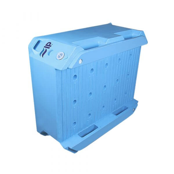 IP 340L cold insulated plastic container