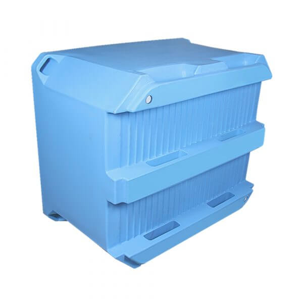 IP 660L cold insulated plastic container
