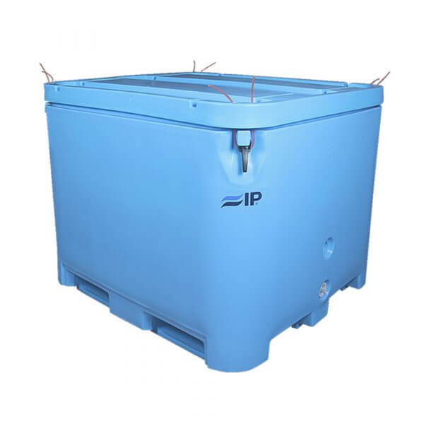 IP 800L cold insulated plastic container
