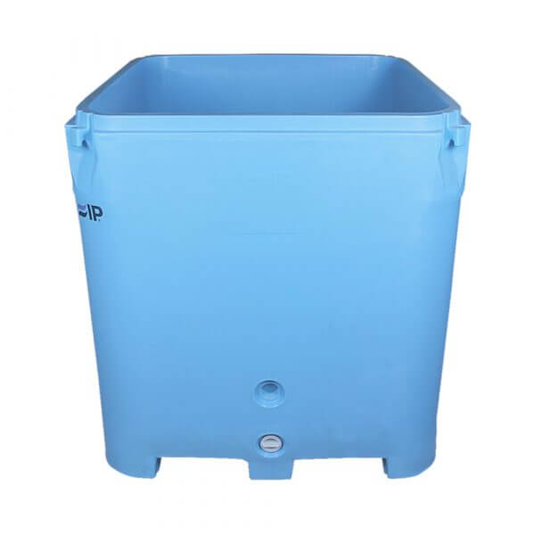 IP F1000 cold insulated plastic container