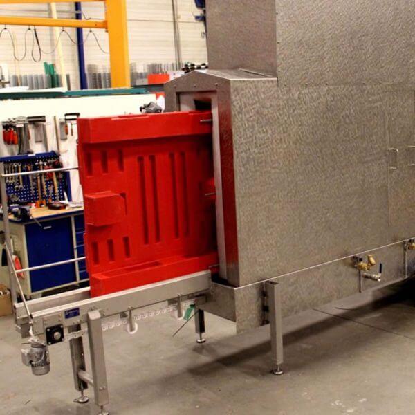 SEMI-STAAL Pallet washer machine